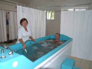 Underwater massage