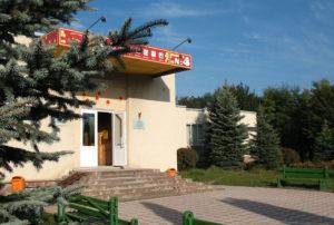 Canteen entrance (building No 4)