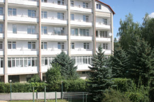One of accomodation buildings