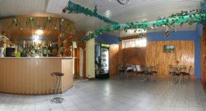 A bar at the territory of the sanatorium