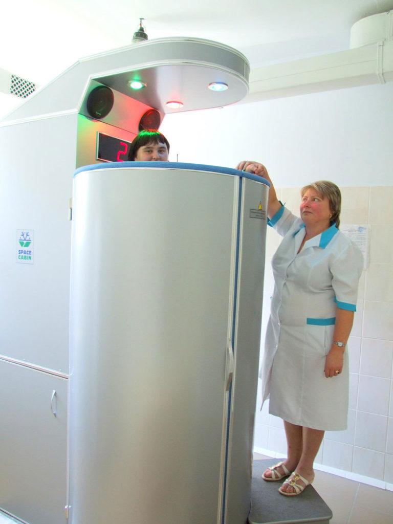 Aerocryotherapy