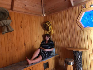 Inside the honey house - 'Honey Heaven'