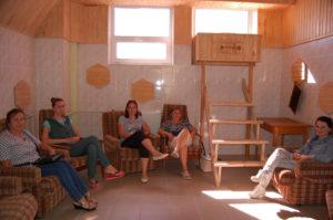 Inside a 'Wax room'