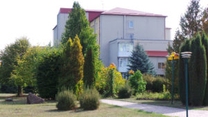 Территория санатория