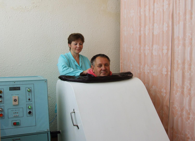 """""""Сухая"""" CO2 ванна"""