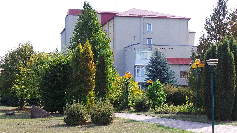 Територія санаторію